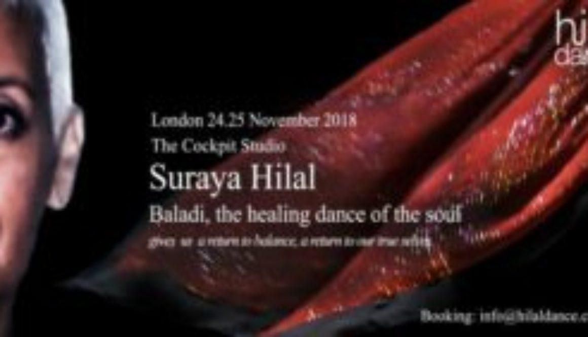 Londra laboratorio con Suraya Hilal
