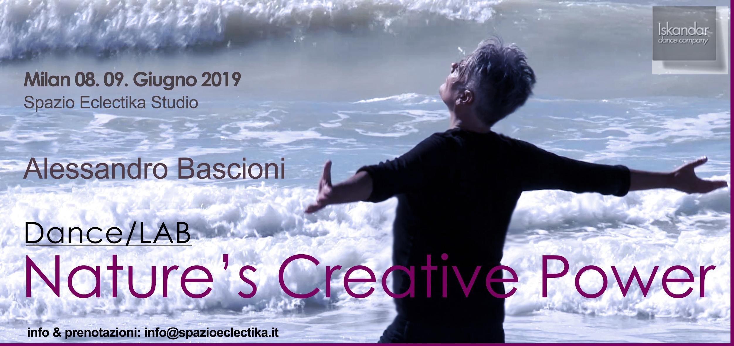 Dance/LAb Nature's Creative Power, Alessandro Bascioni