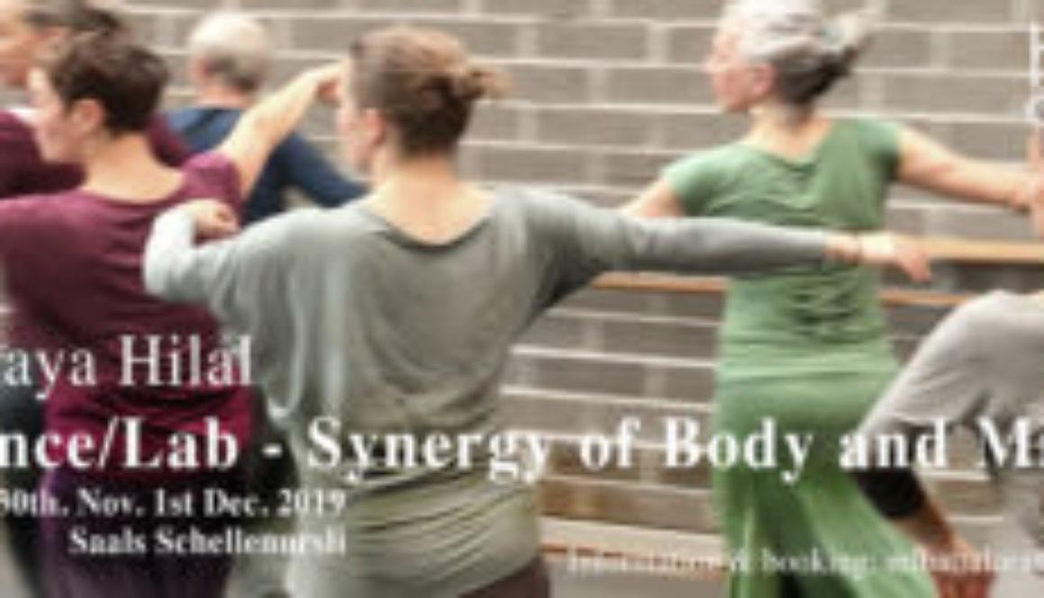 Chur 30. Nov. 01. Dec 2019 Dance/Lab S. Hilal
