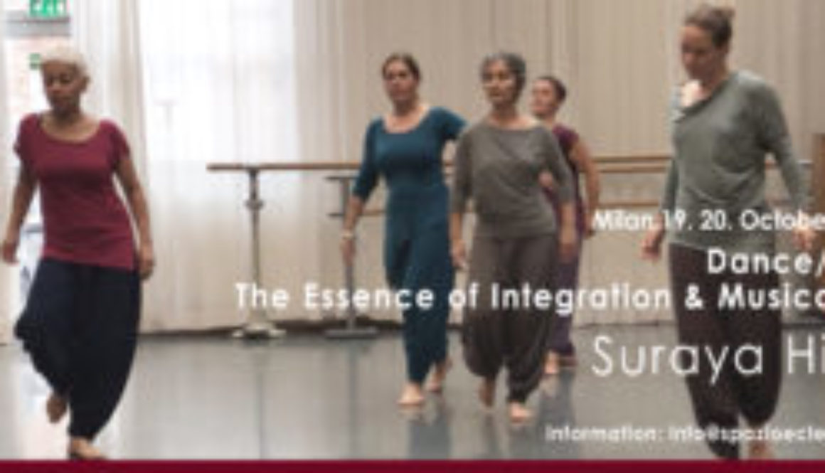 Milano 19. 20. Ottobre 2019 Dance/Lab S. Hilal